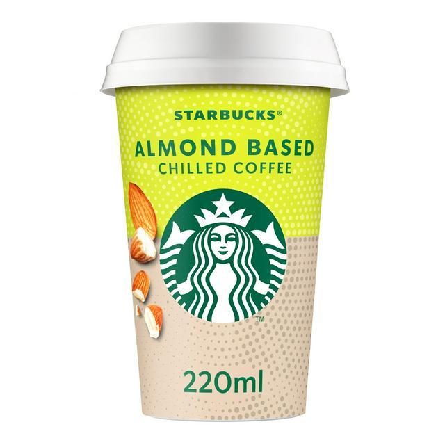 Starbucks Fairtrade Almond Plant Based Iced Coffee 220ml