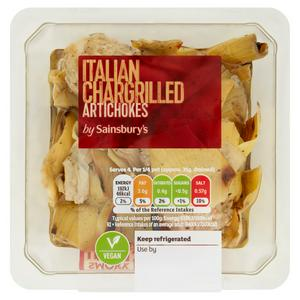 Sainsbury's Italian Chargrilled Artichokes 140g
