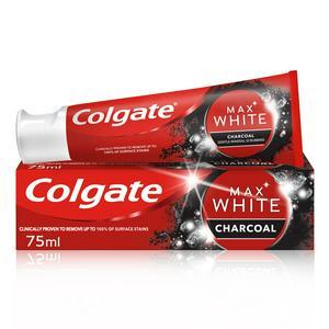 Colgate Max White Charcoal Whitening Toothpaste 75ml