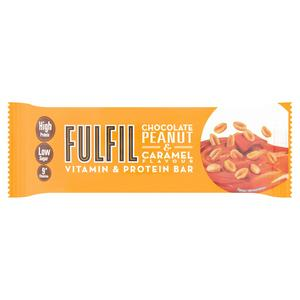 FULFIL Chocolate Peanut & Caramel Vitamin & Protein Bar 40g