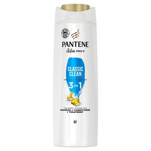 Pantene Pro-V Classic Clean 3in1 Shampoo Conditioner Treatment For Normal To Mixed Hair 450ml