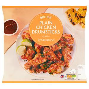 Sainsbury's British Plain Chicken Drumsticks 1.5kg