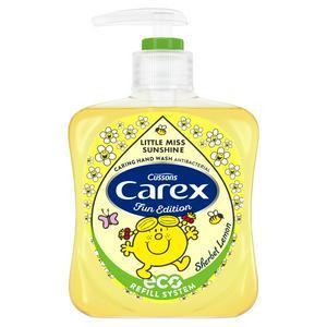 Carex Mr Men And Little Miss Sherbet Lemon Hand Wash Antibacterial 250ml