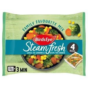 Birds Eye Family Favourites Steamfresh x4 540g