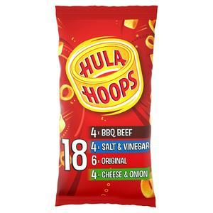 Hula Hoops Variety  Pack 18x24g