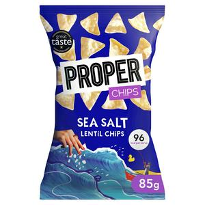 Properchips Sea Salt Lentil Chips 85g