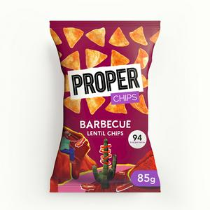 Properchips Barbecue Lentil Chips 85g