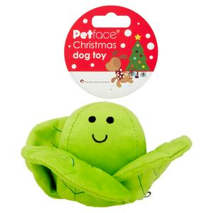 Petface Plush Sprout Christmas Dog Toy
