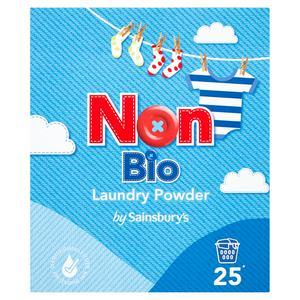 Sainsbury's Non Bio Laundry Powder 1.625kg (25 Washes)