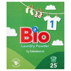 Sainsbury's Bio Laundry Powder 1.625kg (25 Washes)