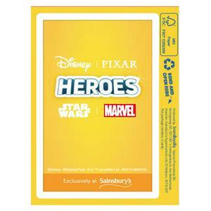 Disney Heroes Cards (Pack of 4 Cards)