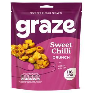 Graze Sweet Chilli Crunch 104g