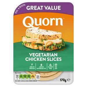 Quorn Vegetarian Chicken Slices 170g