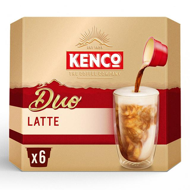 Kenco Duo Latte Instant Coffee X6 Sainsburys