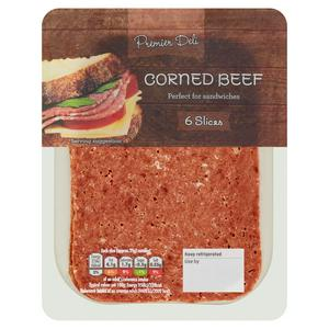 Premier Deli Corned Beef x5 175g