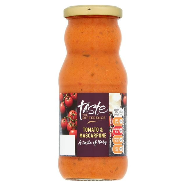 Sainsbury S Tomato Mascarpone Pasta Sauce Taste The Difference 350g Sainsbury S