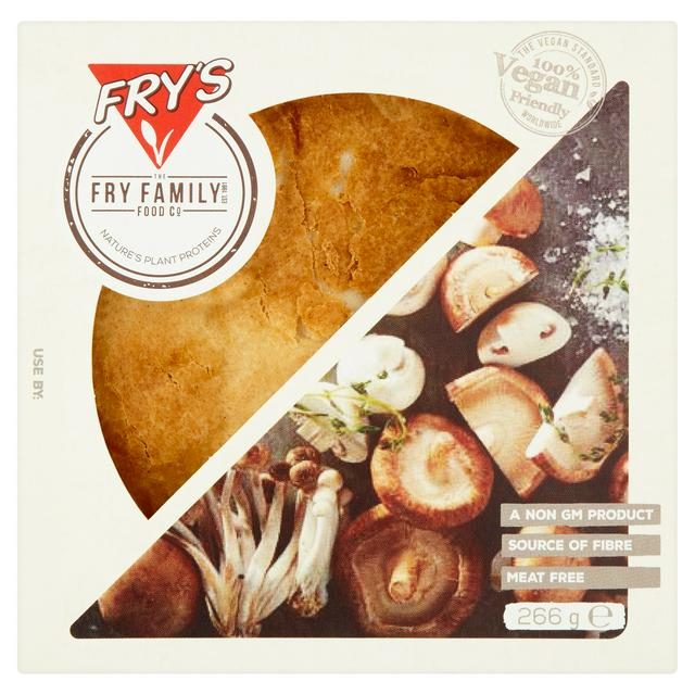 Fry's Mixed Mushroom Country-Style Pie 266g | Sainsbury's