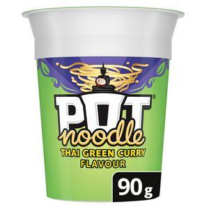 Pot Noodle Thai Green Curry 90g