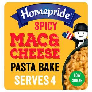 Homepride All American Spicy Mac&Cheese Pasta Bake Sauce 350g