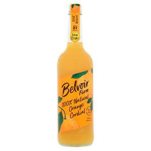 Belvoir Fruit Farms Natural Orange Cordial 750ml