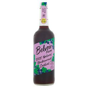 Belvoir Fruit Farms Natural Blackcurrant Cordial 750ml