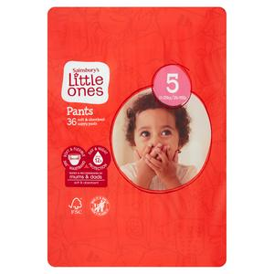 Sainsbury's Little Ones Pants Size 5 x36