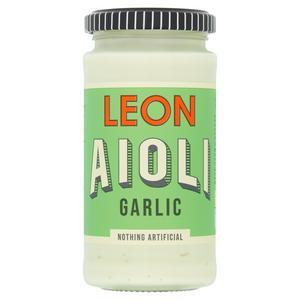 LEON Garlic Aioli 240ml