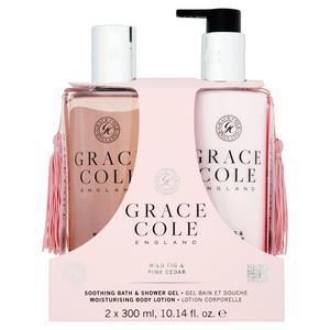 Grace Cole England Wild Fig & Pink Cedar Body Duo 2x300ml