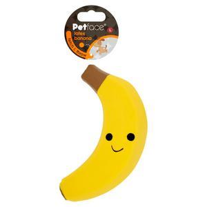 Petface Large Latex Banana Dog Toy