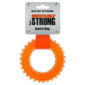 Petface Seriously Strong Dental Ring Dog Toy