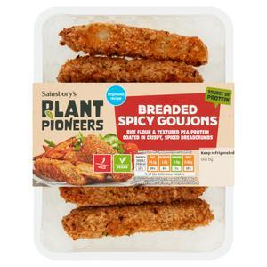 Plant Pioneer Hotnspicy Goujons 210g