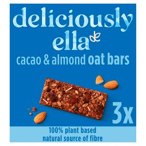 Deliciously Ella Baked Oat Bar Cacao & Almond 3x50g