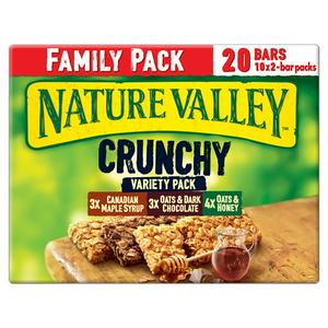 Nature Valley Crunchy Variety Pack Cereal Bars 10x42g