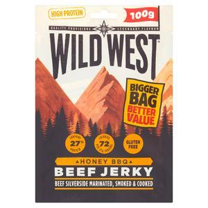 Wild West Honey BBQ Beef Jerky 100g