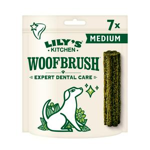 Lily's Kitchen Woofbrush Medium Natural Dental Dog Chew x7 196g