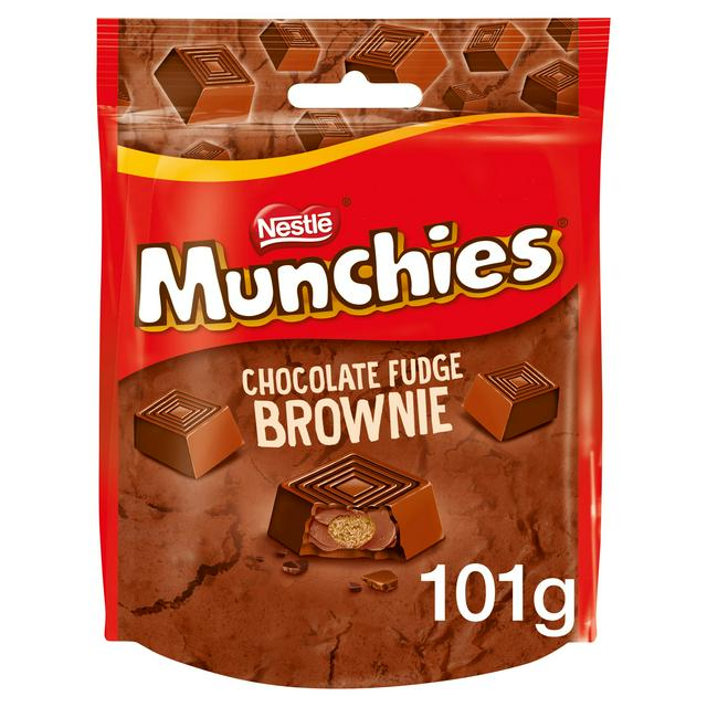 Munchies Chocolate Fudge Brownie Sharing Pouch 101g Sainsbury S