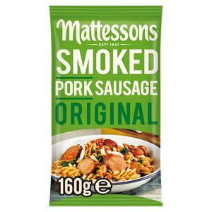 Mattessons Smoked Pork Sausage Original 160g