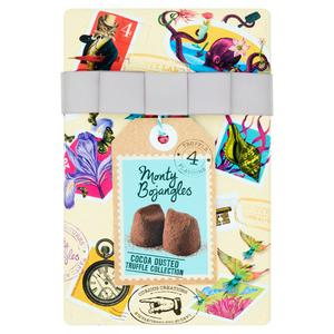 Monty Bojangles 4 Truffle Flavours Cocoa Dusted Truffle Collection 190g
