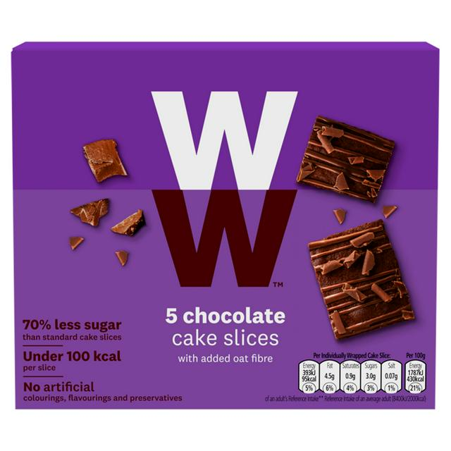 Super Weight Watchers Chocolate Cake Slice X5 Sainsburys Personalised Birthday Cards Paralily Jamesorg
