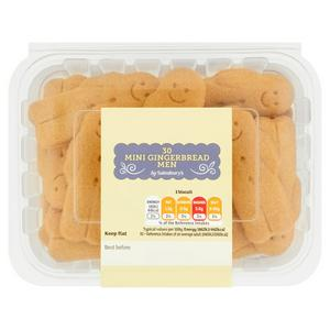 Sainsbury's Mini Gingerbread Men x30