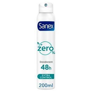 Sanex Zero% Extra Control Antiperspirant Deodorant 200ml