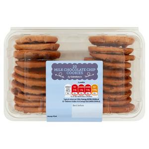 Sainsbury's Chocolate Chip Cookies x20