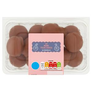 Sainsbury's Mini Teacakes x14