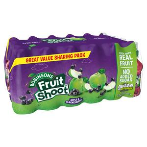 Robinsons Fruit Shoot Apple & Blackcurrant 24x200ml