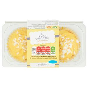 Sainsbury's Lemon Cupcakes x2
