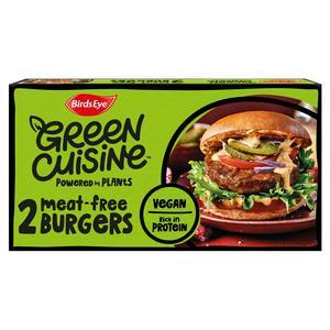 SAINSBURYS > Meat Fish > Birds Eye Green Cuisine Meat Free Burgers x2 200g