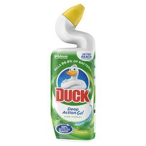 Duck Deep Action Gel Toilet Liquid Cleaner Pine 750ml