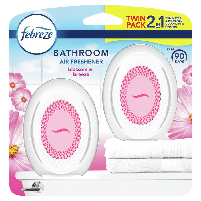 Febreze Bathroom Continuous Air Freshener Odour Elimination Prevention Blossom Breeze Sainsbury S