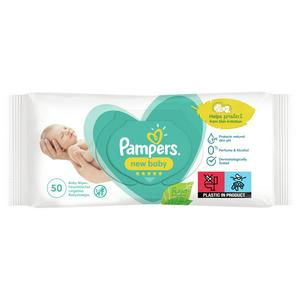Pampers New Baby Sensitive Baby Wipes x50