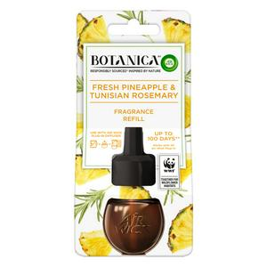 Botanica by Air Wick Electrical Plug In 1 Refill, Fresh Pineapple and Tunisian Rosemary 19 mL